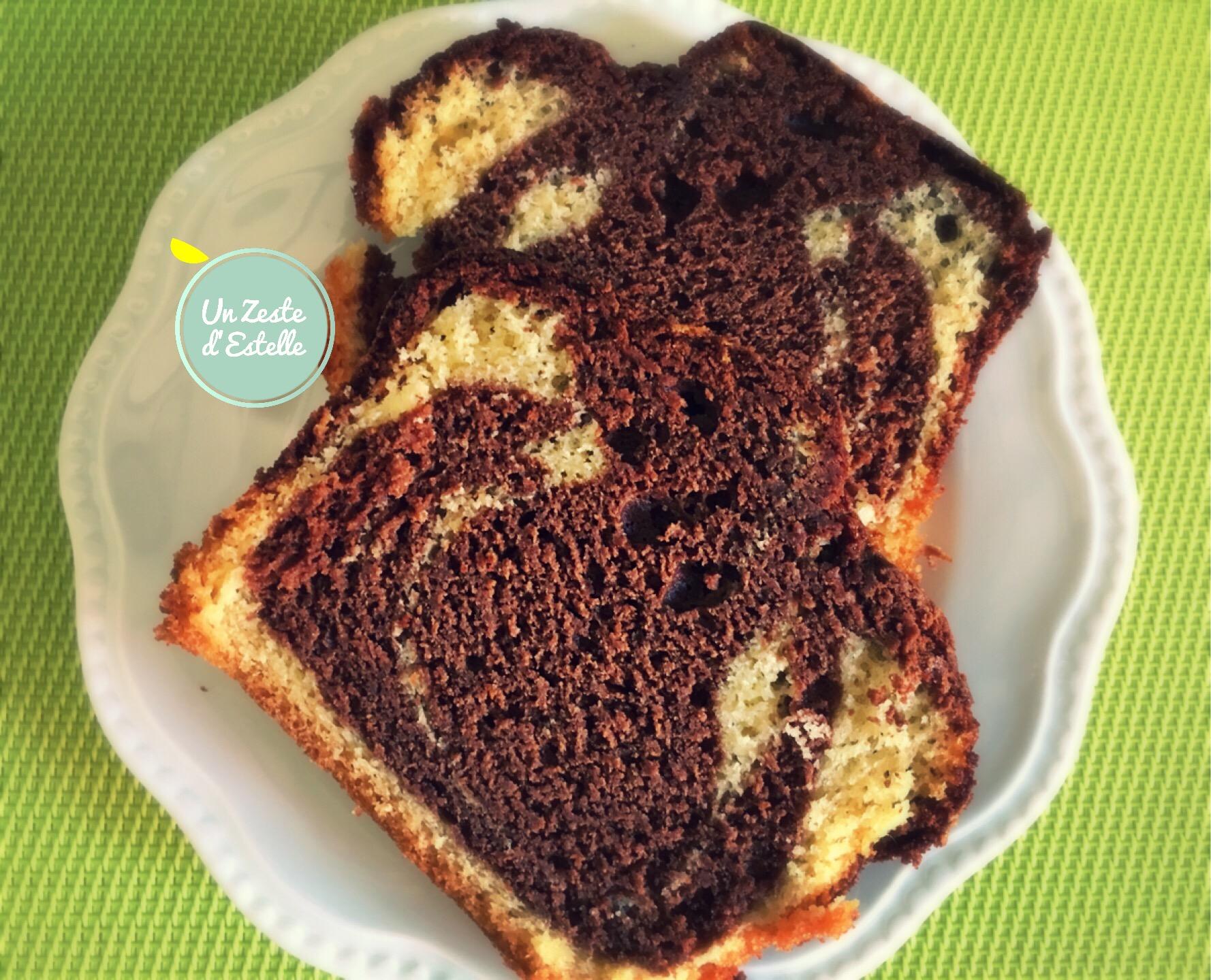 Cake Marbr Ef Bf Bd Chocolat Marmiton