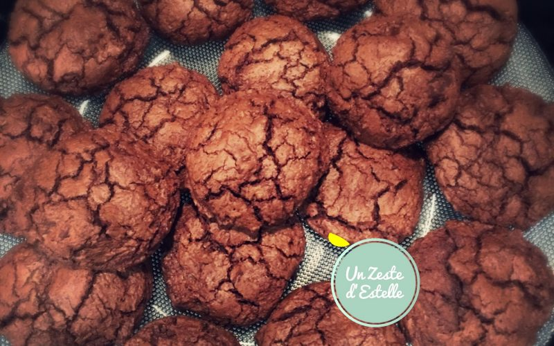 Cookies au chocolat chocofrappés