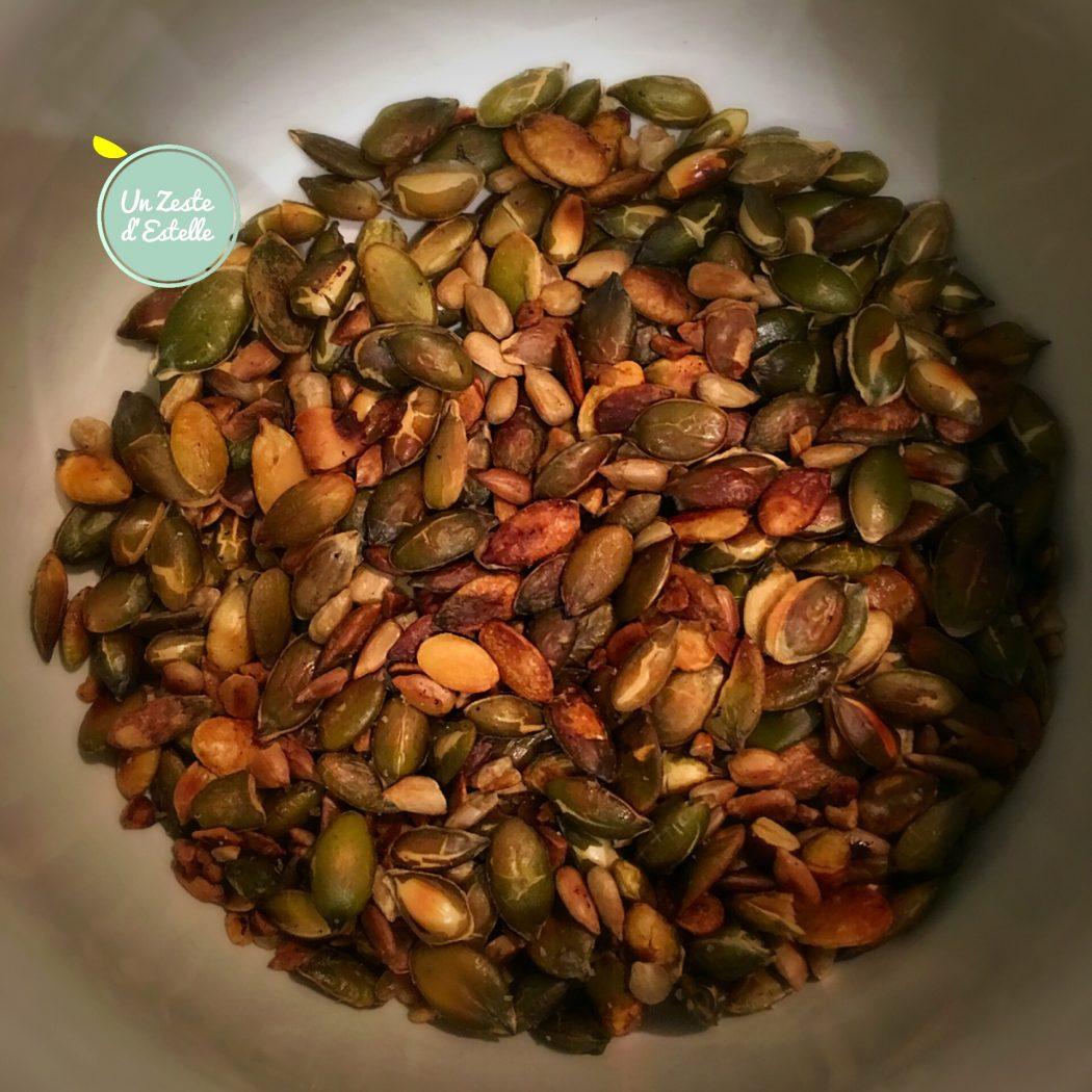 Les graines grillées