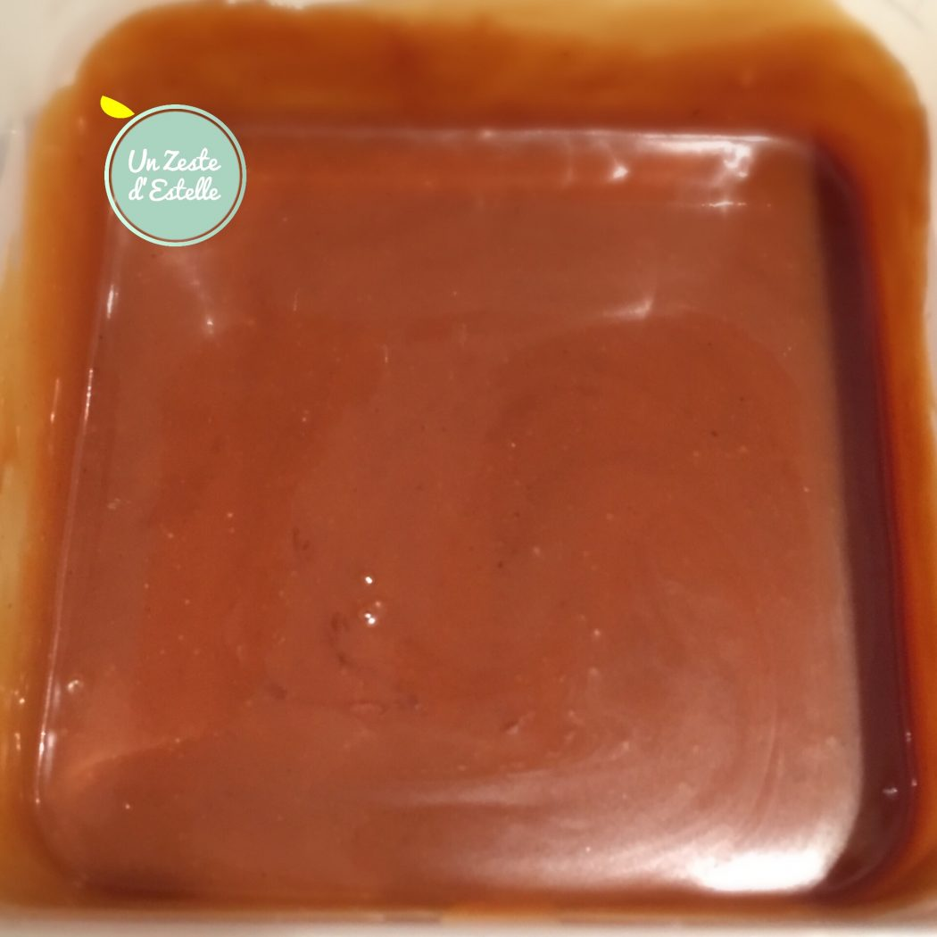 le caramel crémeux nougatine d'Estelle
