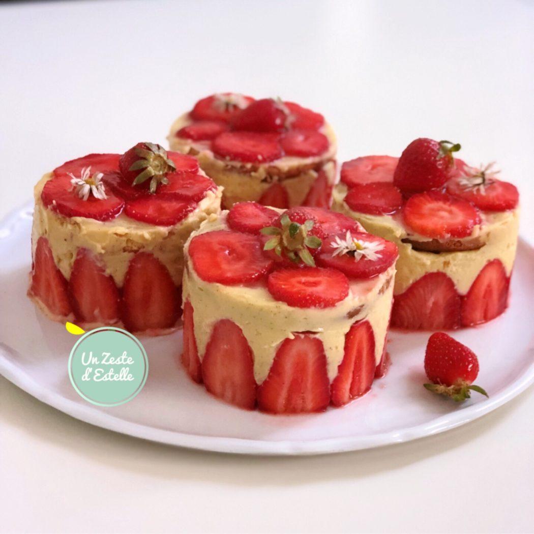 Qu'ils sont gourmands ces fraisiers sans lactose !