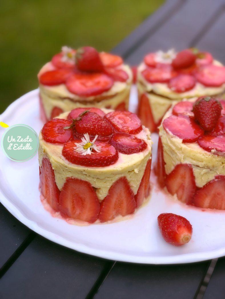 Ce fraisier sans lactose, comme un vrai Chef !