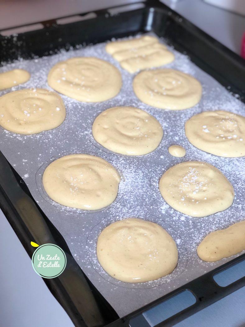 Vos biscuits à la cuillère avant la cuisson