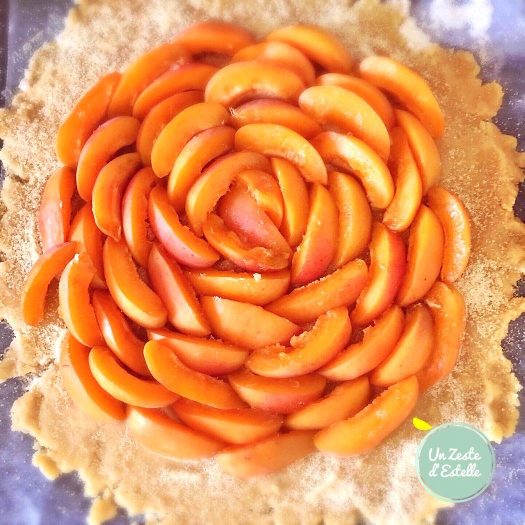 Tarte rustique aux abricots