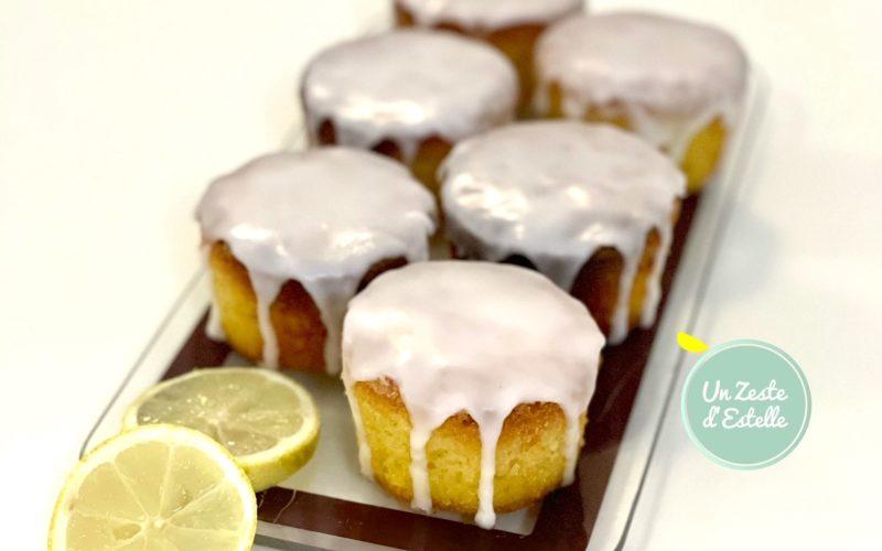Mini cakes au citron sans gluten