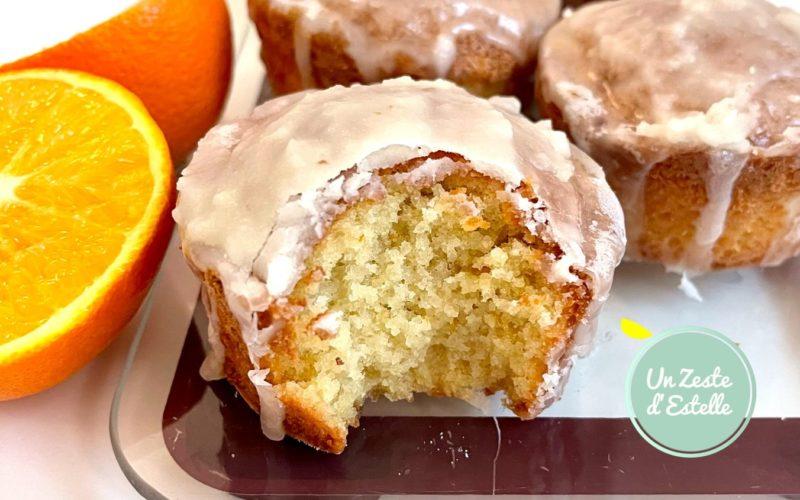 Mini cakes à l'orange sans gluten