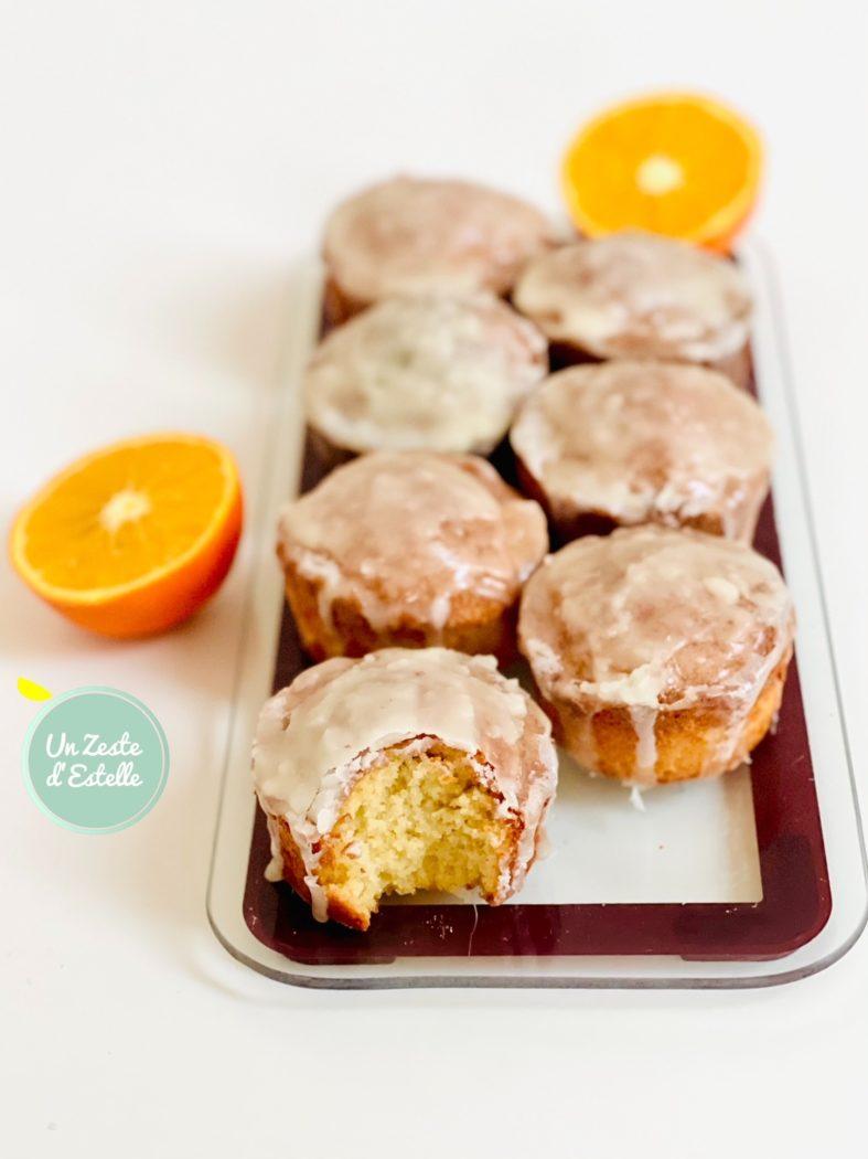 Voilà ! Vos mini cakes à l'orange sans gluten sont prêts, régalez-vous !